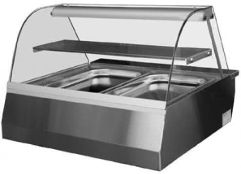 Igloo Celinah Heated Gastronorm Counter Top Serveover Counter 1300mm Wide - HOT3